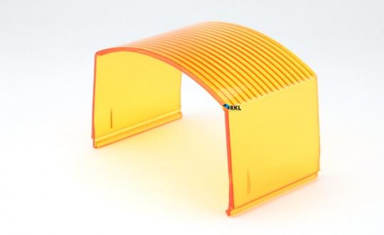 Phoenix SL: Lichtscheibe vo/hi, orange, 60 mm**