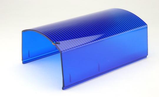 P8000 / Phoenix: Lichtscheibe vo/hi, blau, 162 mm**