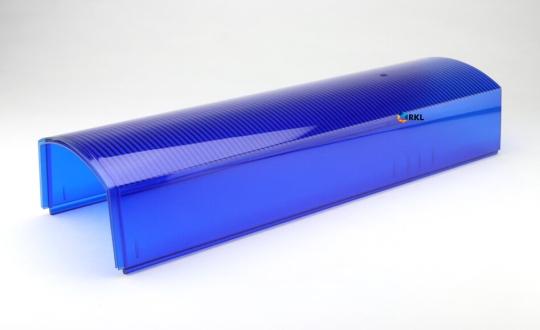 Phoenix Strobe: Lichtscheibe vo/hi, blau, 330 mm**
